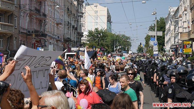 kievprajd zt 15 - Учасниця київського «Маршу рівності» розповіла, чи є Житомир гомофобним
