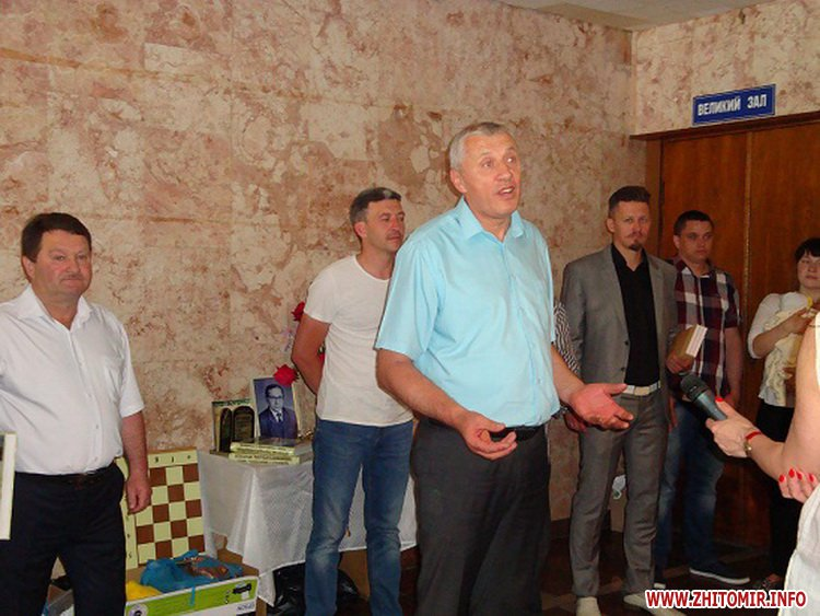 chaHy 3 - У Черняхові відбувся XV-й меморіал з шахів пам'яті Миколи Кондратюка