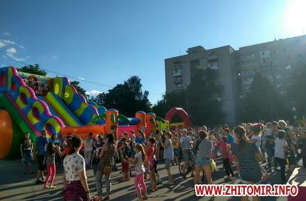 2017 06 19Femily Fest 16 w440 h290 - З розвагами та подарунками у Житомирі відбувся «Family fest»