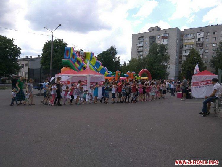 Femily Fest 14 - З розвагами та подарунками у Житомирі відбувся «Family fest»