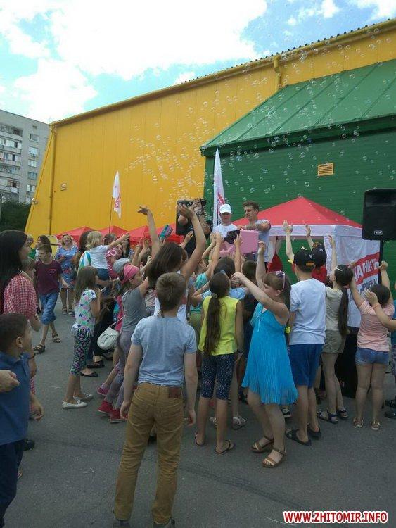 Femily Fest 15 - З розвагами та подарунками у Житомирі відбувся «Family fest»