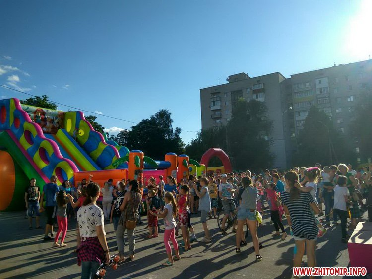 Femily Fest 16 - З розвагами та подарунками у Житомирі відбувся «Family fest»