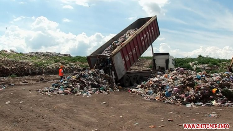 mysot 2707Lv 1 - Житомирські активісти обіцяють перекривати в'їзд на сміттєзвалище, якщо туди возитимуть львівське сміття