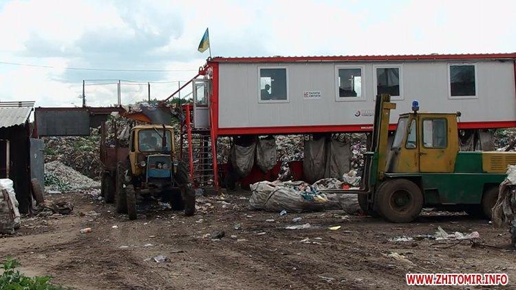 mysot 2707Lv 9 - Житомирські активісти обіцяють перекривати в'їзд на сміттєзвалище, якщо туди возитимуть львівське сміття