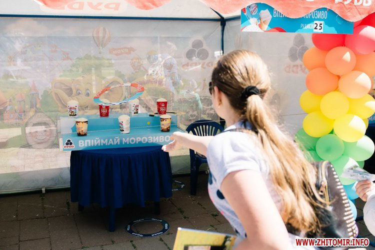 rudrud 14 - Компанія «Рудь» подарувала житомирським дітлахам улюблене Свято Морозива