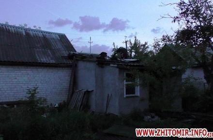 2017 07 1120170523 pozezazt 2 w440 h290 - У селі Житомирської області горів будинок, «швидка» госпіталізувала чоловіка з опіками