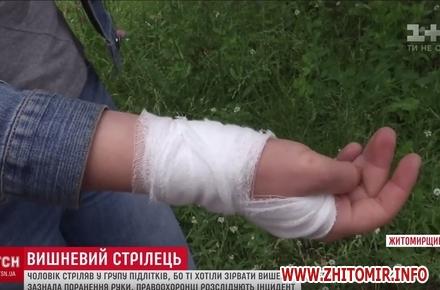 2017 07 12ghdfhbxcvb w440 h290 - У райцентрі Житомирської області чоловік вистрілив у 15-річну дівчину через нічийну вишню