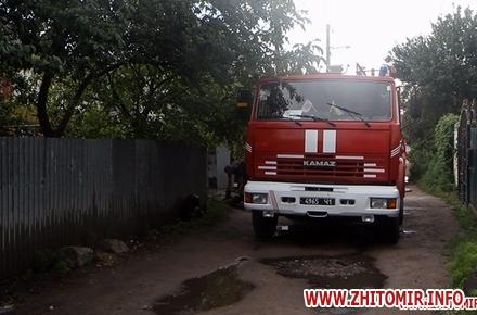 2017 07 13izzaMol 1 w440 h290 - Біля «Ліктрав» у Житомирі від удару блискавки загорівся будинок