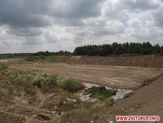 llyu 2 - Під Новоградом-Волинським триває будівництво полігону для сміття вартістю 2,7 млн грн