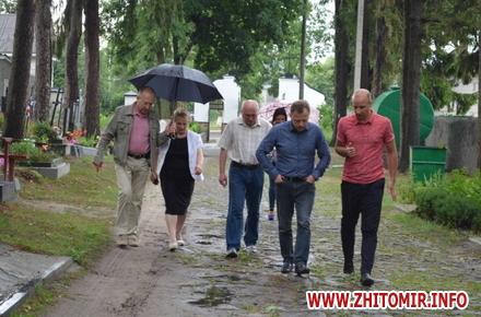 2017 07 14cvPol 4 w440 h290 - До кінця серпня в Житомирі планують завершити проект бюджету участі з упорядкування Польського цвинтаря