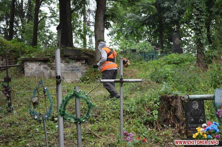 cvPol 1 - До кінця серпня в Житомирі планують завершити проект бюджету участі з упорядкування Польського цвинтаря