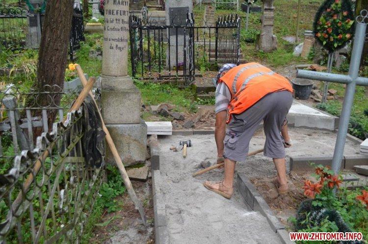 cvPol 5 - До кінця серпня в Житомирі планують завершити проект бюджету участі з упорядкування Польського цвинтаря