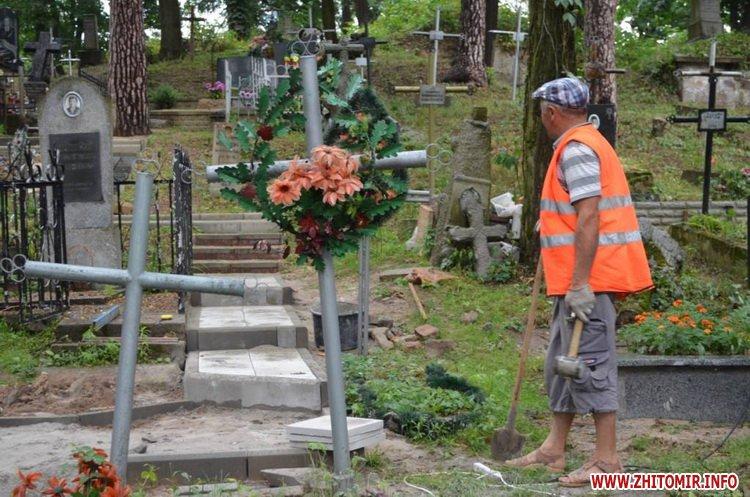 cvPol 6 - До кінця серпня в Житомирі планують завершити проект бюджету участі з упорядкування Польського цвинтаря