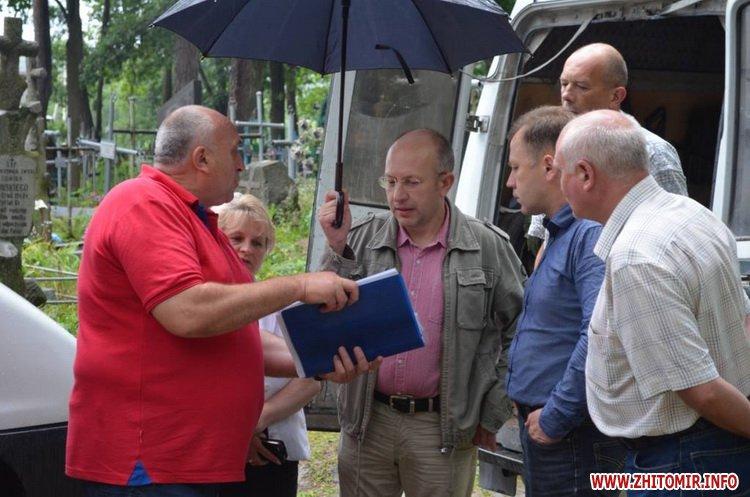 cvPol 7 - До кінця серпня в Житомирі планують завершити проект бюджету участі з упорядкування Польського цвинтаря