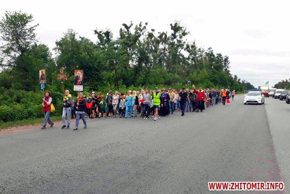 20170714 palomnyky3 - Колона паломників з усієї України йде до Бердичева, де на вихідних відзначатимуть релігійне свято