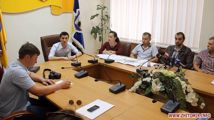 pozaYac 4 - У Житомирі з 21 липня перекриють рух на майдані Соборному – наноситимуть нову розмітку