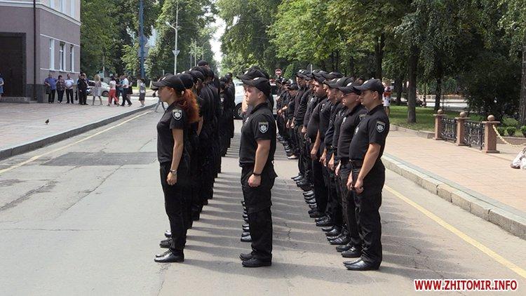 20170721 prysyaga 01 - Нові житомирські оперативники та дільничні інспектори поліції: Від нас залежить порядок в країні