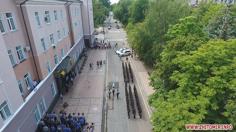 20170721 prysyaga 03 - Нові житомирські оперативники та дільничні інспектори поліції: Від нас залежить порядок в країні