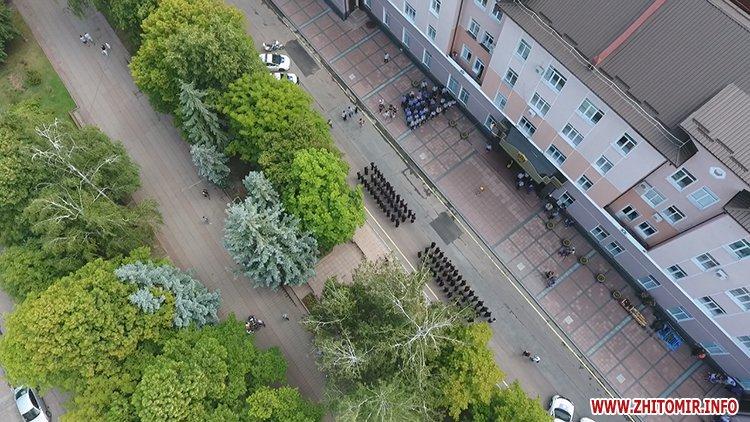 20170721 prysyaga 05 - Нові житомирські оперативники та дільничні інспектори поліції: Від нас залежить порядок в країні