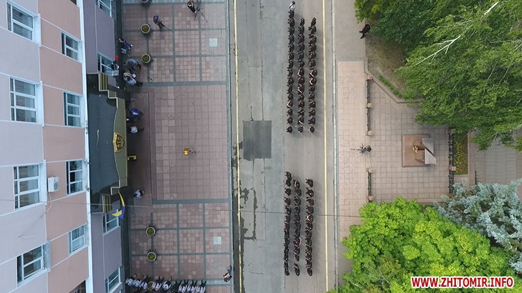 20170721 prysyaga 07 - Нові житомирські оперативники та дільничні інспектори поліції: Від нас залежить порядок в країні