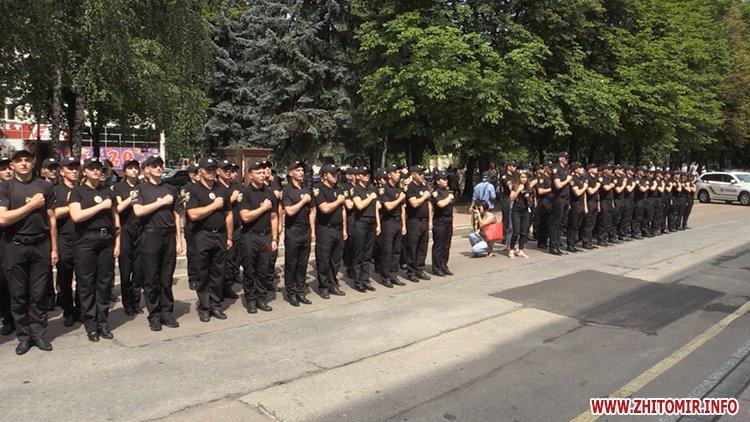 20170721 prysyaga 09 - Нові житомирські оперативники та дільничні інспектори поліції: Від нас залежить порядок в країні