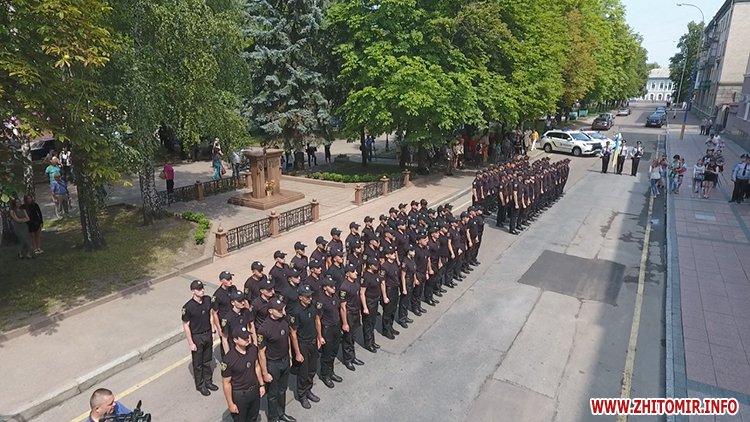 20170721 prysyaga 11 - Нові житомирські оперативники та дільничні інспектори поліції: Від нас залежить порядок в країні