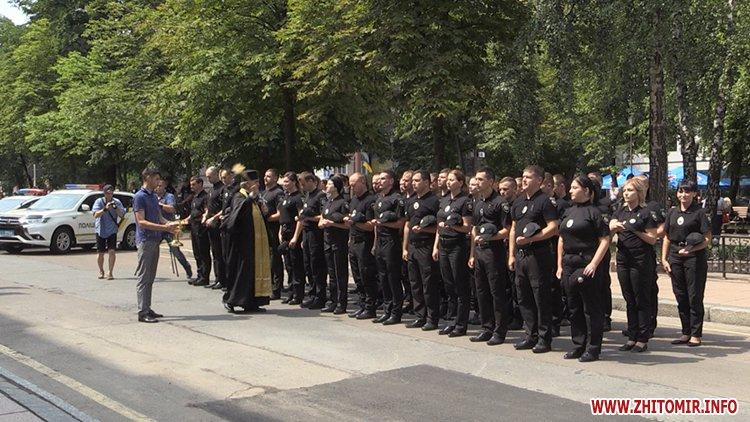20170721 prysyaga 13 - Нові житомирські оперативники та дільничні інспектори поліції: Від нас залежить порядок в країні
