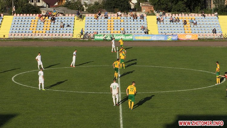 naRezk 1 - Житомирське «Полісся» невдало стартувало у сезоні ІІ ліги через серйозні кадрові проблеми