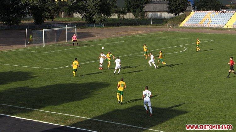 naRezk 2 - Житомирське «Полісся» невдало стартувало у сезоні ІІ ліги через серйозні кадрові проблеми