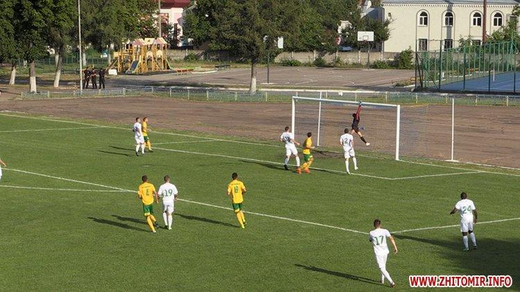 naRezk 5 - Житомирське «Полісся» невдало стартувало у сезоні ІІ ліги через серйозні кадрові проблеми
