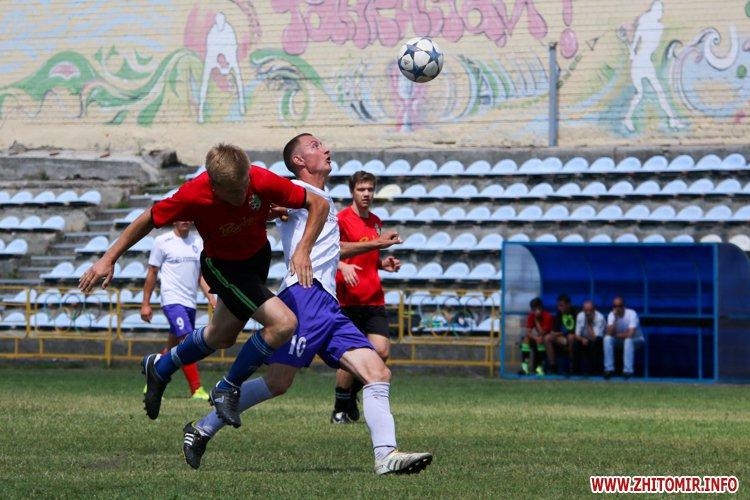 Levu kroshy 01 - «Леви-Крошу» розгромили «Хімік» в чемпіонаті Житомирського району з футболу