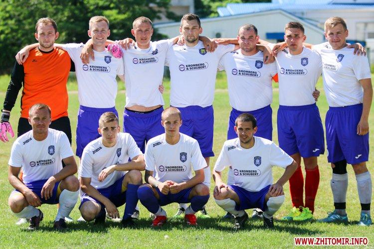 Levu kroshy 04 - «Леви-Крошу» розгромили «Хімік» в чемпіонаті Житомирського району з футболу