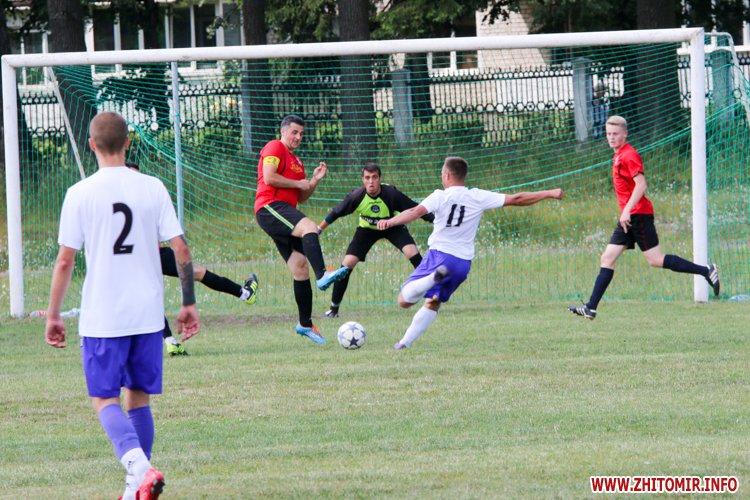 Levu kroshy 06 - «Леви-Крошу» розгромили «Хімік» в чемпіонаті Житомирського району з футболу