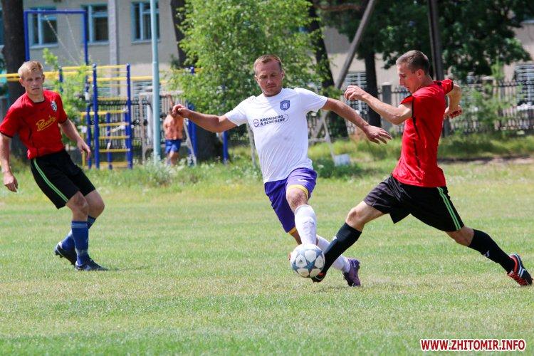 Levu kroshy 08 - «Леви-Крошу» розгромили «Хімік» в чемпіонаті Житомирського району з футболу