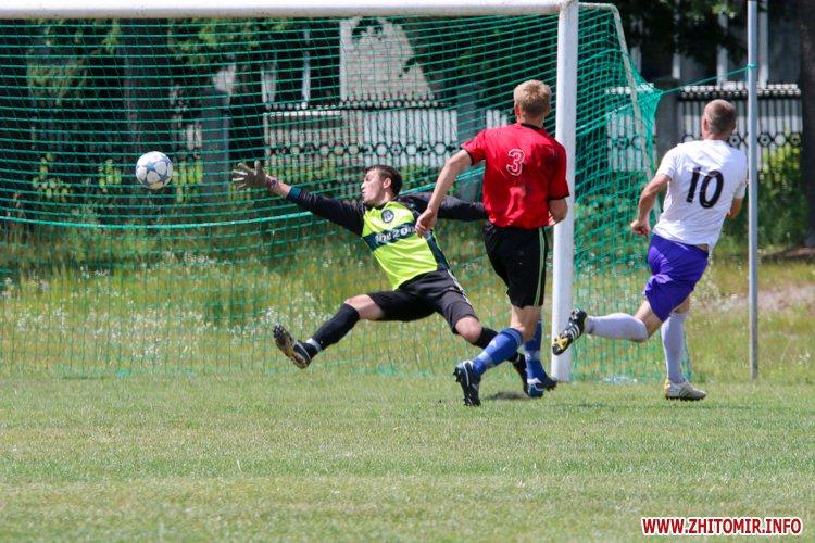 Levu kroshy 09 - «Леви-Крошу» розгромили «Хімік» в чемпіонаті Житомирського району з футболу