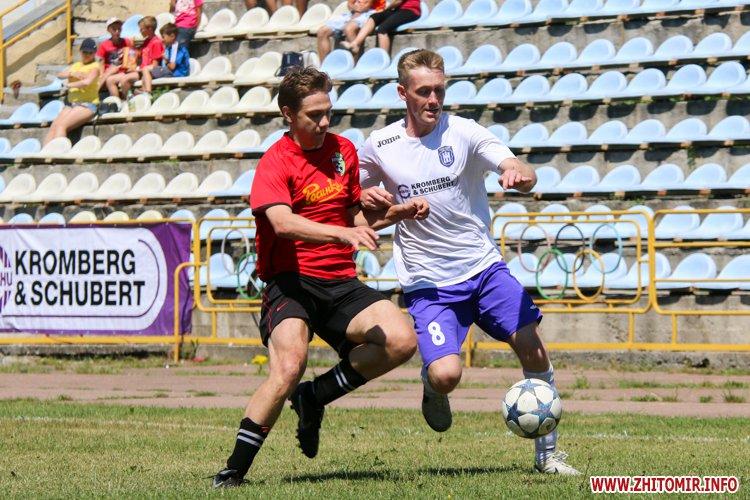 Levu kroshy 10 - «Леви-Крошу» розгромили «Хімік» в чемпіонаті Житомирського району з футболу