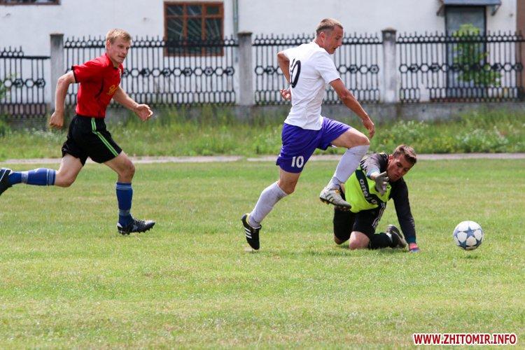Levu kroshy 11 - «Леви-Крошу» розгромили «Хімік» в чемпіонаті Житомирського району з футболу