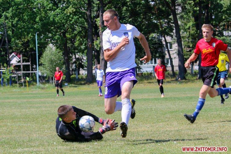 Levu kroshy 14 - «Леви-Крошу» розгромили «Хімік» в чемпіонаті Житомирського району з футболу