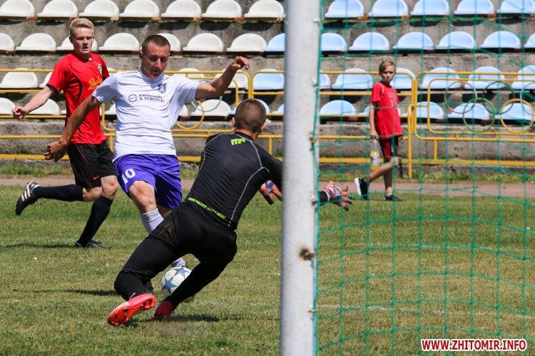 Levu kroshy 15 - «Леви-Крошу» розгромили «Хімік» в чемпіонаті Житомирського району з футболу