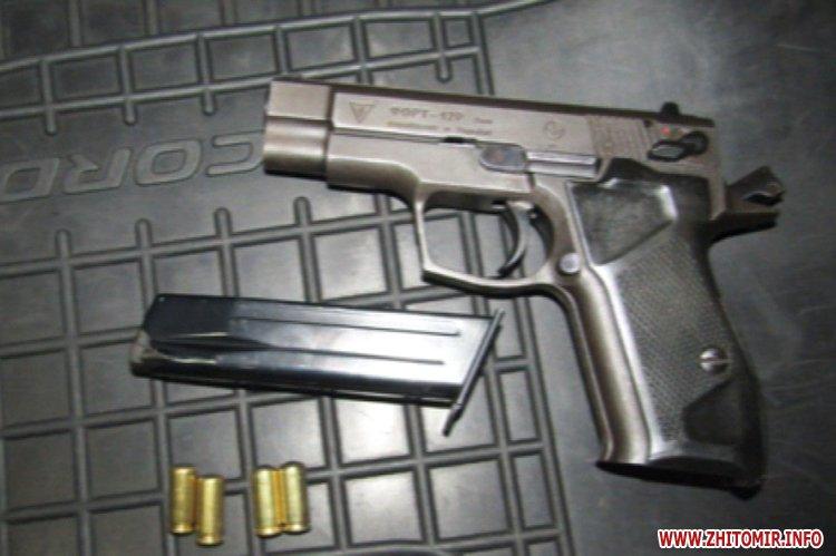 pecenenko zatrimannya 1 - Житомирський КОРД у Києві затримав злочинця, який вистрелив у чоловіка і втік