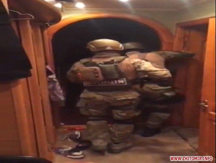pecenenko zatrimannya 2 - Житомирський КОРД у Києві затримав злочинця, який вистрелив у чоловіка і втік