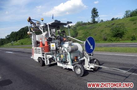 2017 08 11oiubN w440 h290 - На дорожній розмітці Служба автодоріг у Житомирській області зекономить 1,4 млн грн