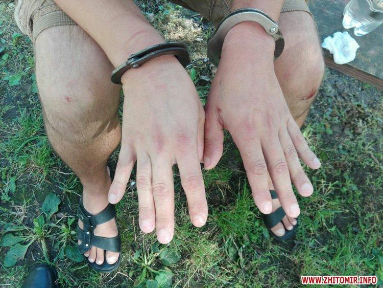 a za rob 2 - Поліція через місяць затримала житомирянина, який підвозив жінку і пограбував її