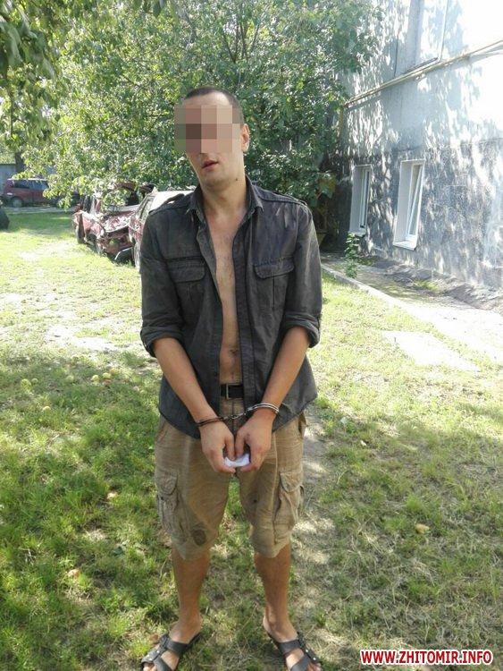 a za rob 4 - Поліція через місяць затримала житомирянина, який підвозив жінку і пограбував її