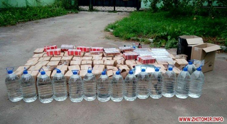 kajshfd 2 - У Житомирській області «ділки» виготовили 450 літрів спиртного, яке маскували під продукцію відомих марок
