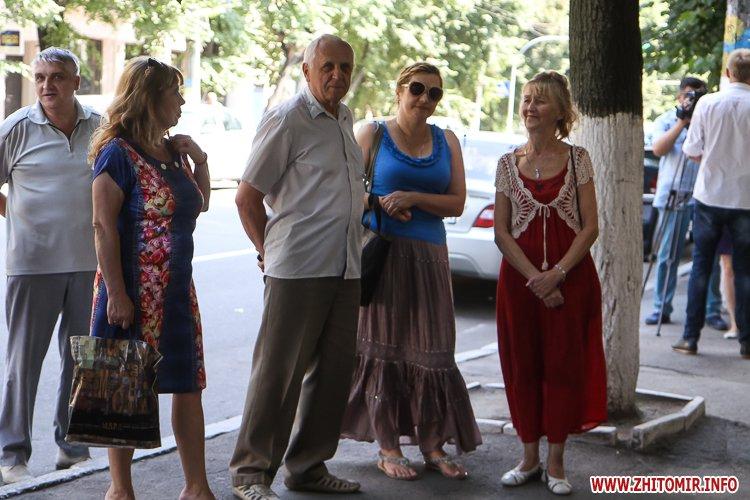 djOsa 06 - Як у Житомирі відкривали дошку Першому Незалежному українському театру