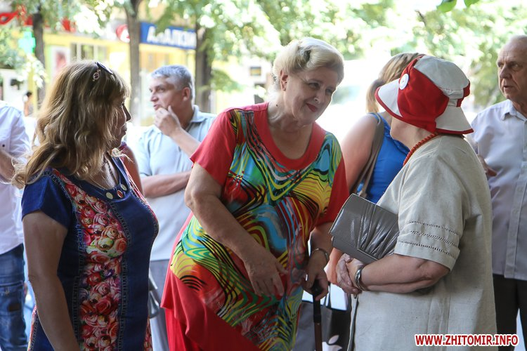 djOsa 08 - Як у Житомирі відкривали дошку Першому Незалежному українському театру