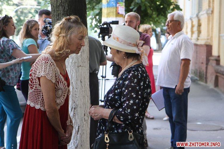 djOsa 09 - Як у Житомирі відкривали дошку Першому Незалежному українському театру