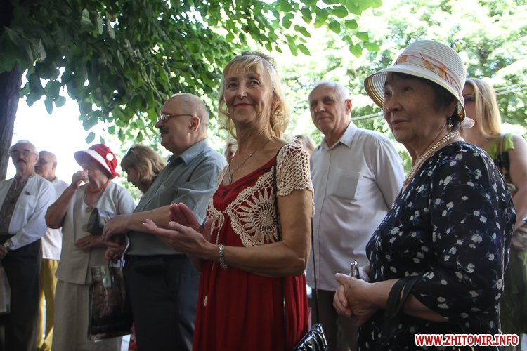 djOsa 13 - Як у Житомирі відкривали дошку Першому Незалежному українському театру