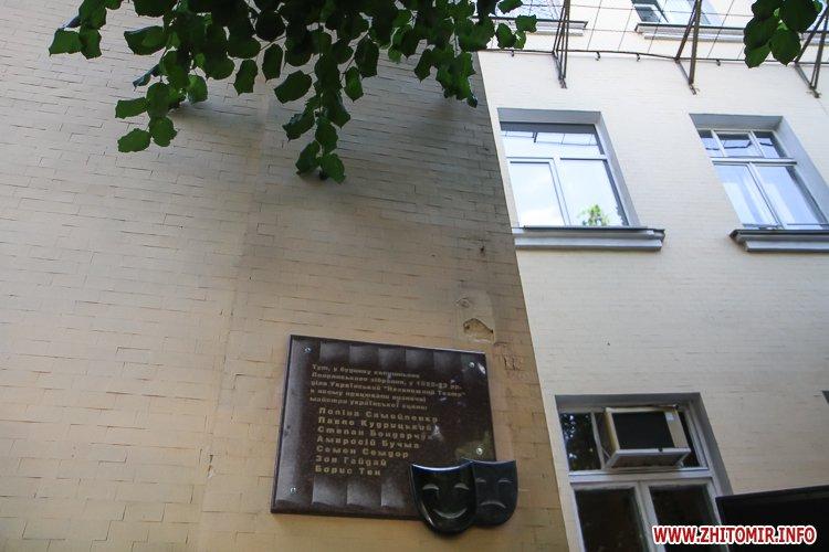 djOsa 18 - Як у Житомирі відкривали дошку Першому Незалежному українському театру